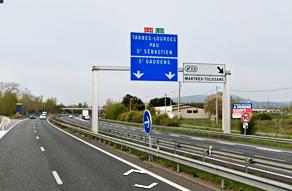 Guilhot logistique, accès par voie routière